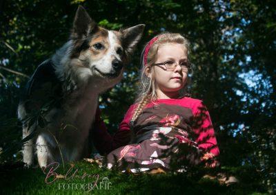 Hondenfotoshoot Utrecht Isadora met Tess