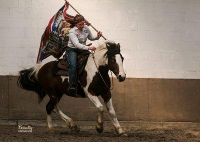 Paardenfotoshoot Eindhoven Vicky op diablo tijdens event in belgië