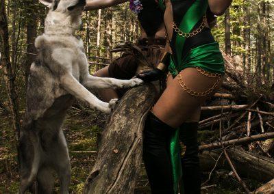 Hondenfotoshoot Utrecht themashoot Wolfhonden