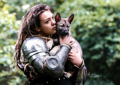 Hondenfotoshoot Utrecht Nikki & Satin